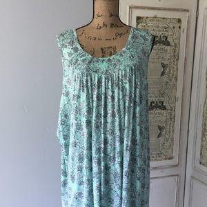 croft & barrow Intimates & Sleepwear - Croft & Barrow Smocked 2-Piece Pajama Set 3X NWT
